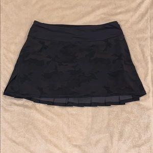 Lululemon Camo Pace Setter Skirt